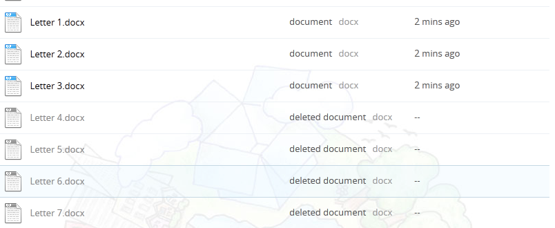 how to get deleted pictures from dropbox