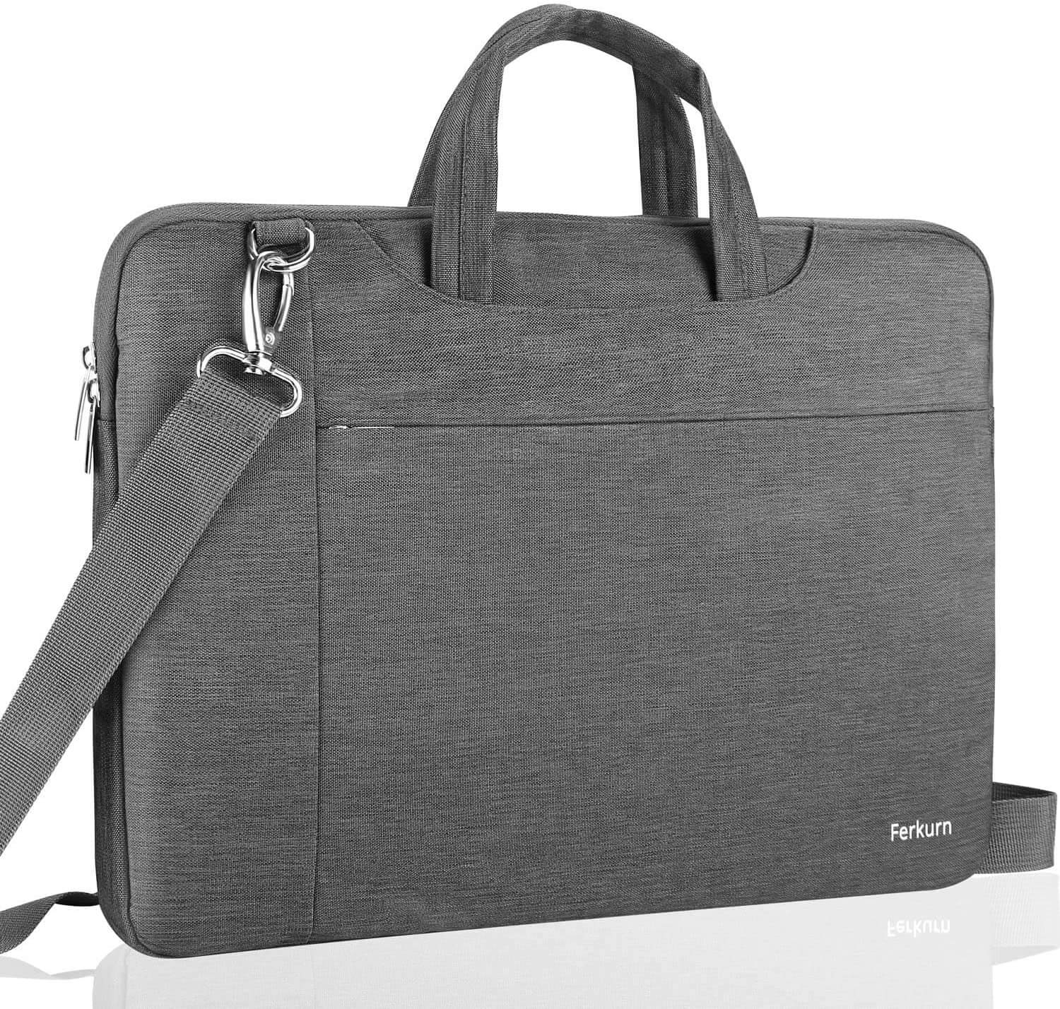 Ferkurn Laptop Bag Sleeve Carrying Case Compatible with 17 17.3 Inch